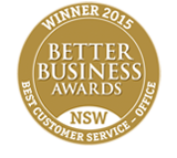 BBA Customer service award 2015