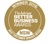 BBA Customer service award 2016