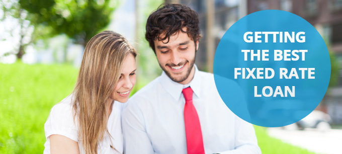 A couple choose a cheap fixed rate loan