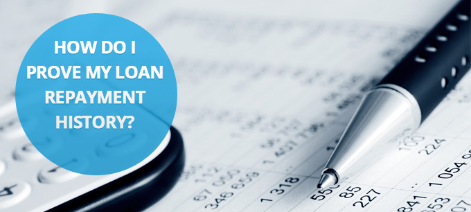 Loan Repayment History Letter