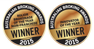 Seals for the Australian Broking Awards 2015