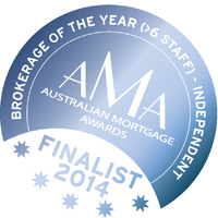 Australian Mortgage Awards 2014 - Brokerage of the Year finalist
