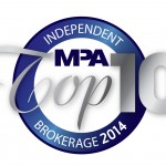 MPA Top 10 Independent Brokerages medal