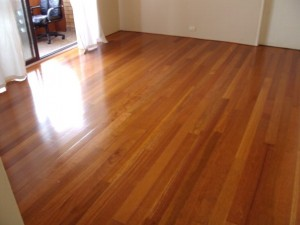 brand new floorboards