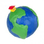 house on a globe