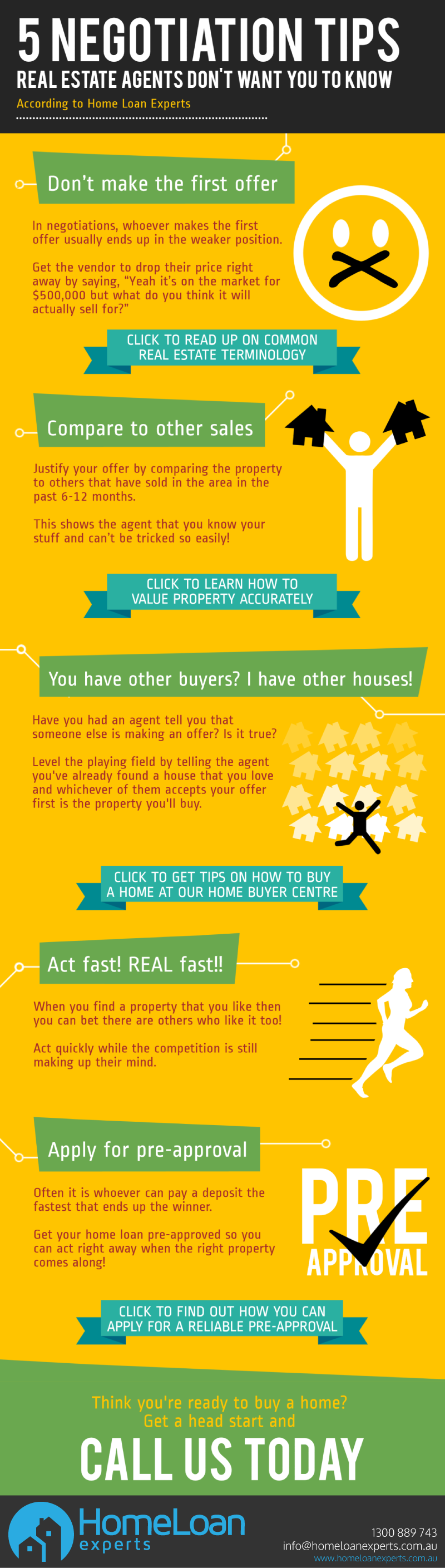 5 Negotiation Tips Real Estate Agents Don't Want You To Know infographic