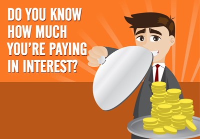 How much of your home loan payment is interest