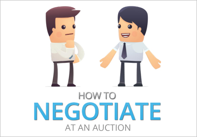 How to negotiate at an auction