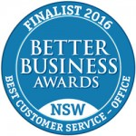 Best Customer Service finalist logo