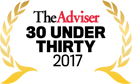 The Adviser 30 under thirty seal