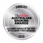 Customer Service of the Year (More Than 5 Brokers) award seal