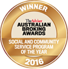 social and community service program of the year 2016