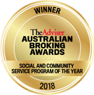 ABA social and community service program of the year 2018