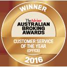 ABA Customer service award 2016