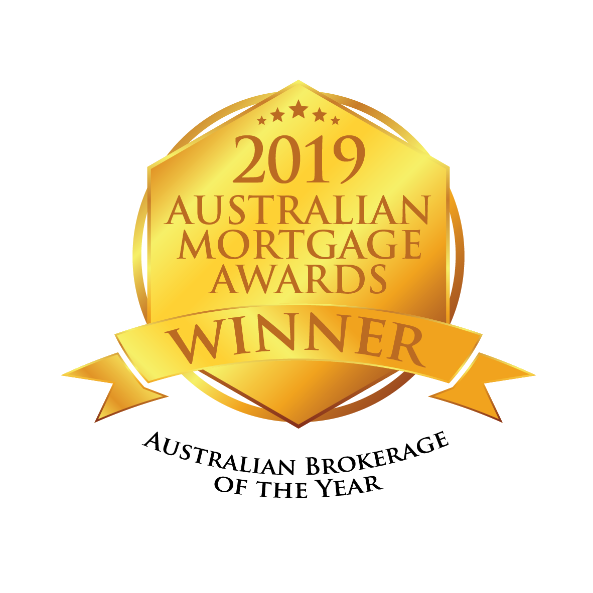 Australian Mortgage Awards 2019 Winner Seal